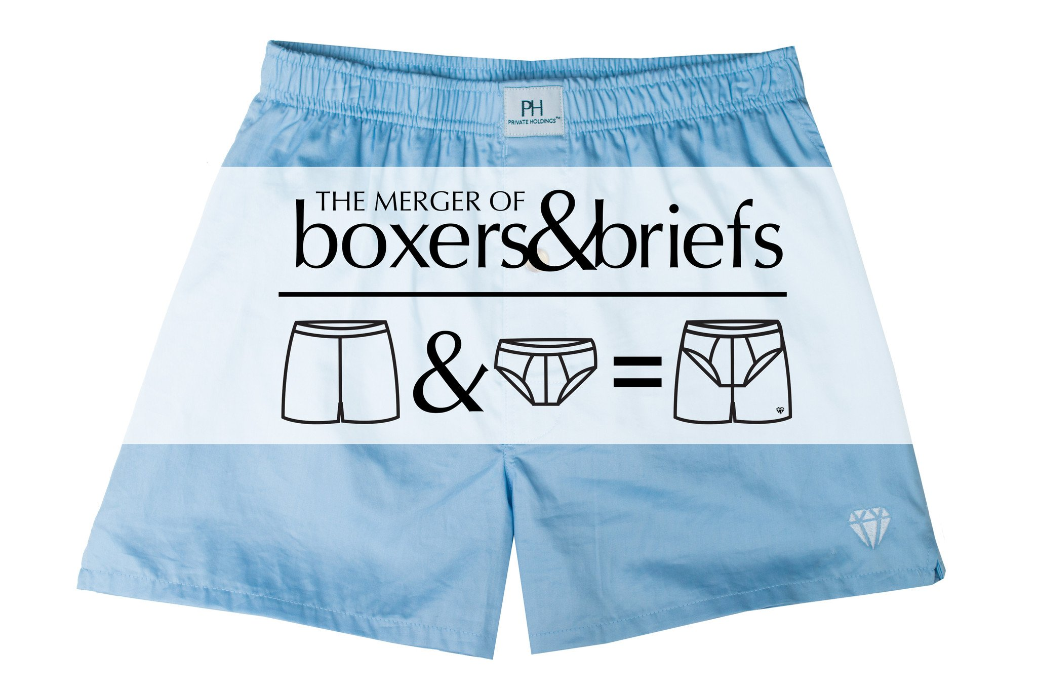 Private Holdings-The Merger of Boxers & Briefs-Business Blue