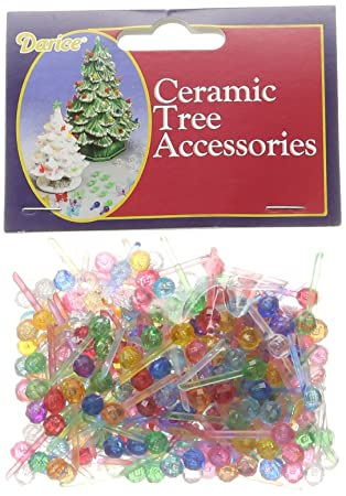 "Darice Ceramic Christmas Tree Bulb .25"" 250/Pkg-Mini Globe-Multi - Amazon.com: Darice Ceramic Christmas Tree Bulb .25"