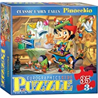 EuroGraphics 35-Piece Classicic Fairy Tales Pinocchio Puzzle