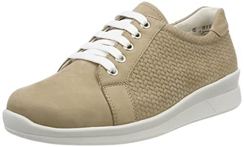 Kelli, Zapatos de Cordones Derby para Mujer, Marrón (Mattbraun 461), 37 EU Berkemann
