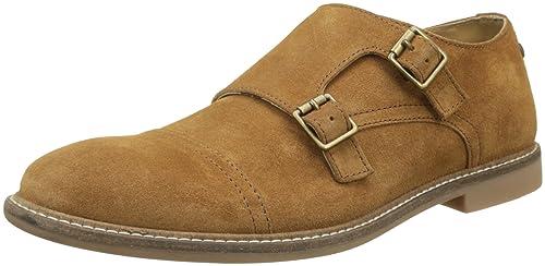 Base London DELAMERE, Mocasines para Hombre, Beige (Suede Cognac 553), 44 EU: Amazon.es: Zapatos y complementos