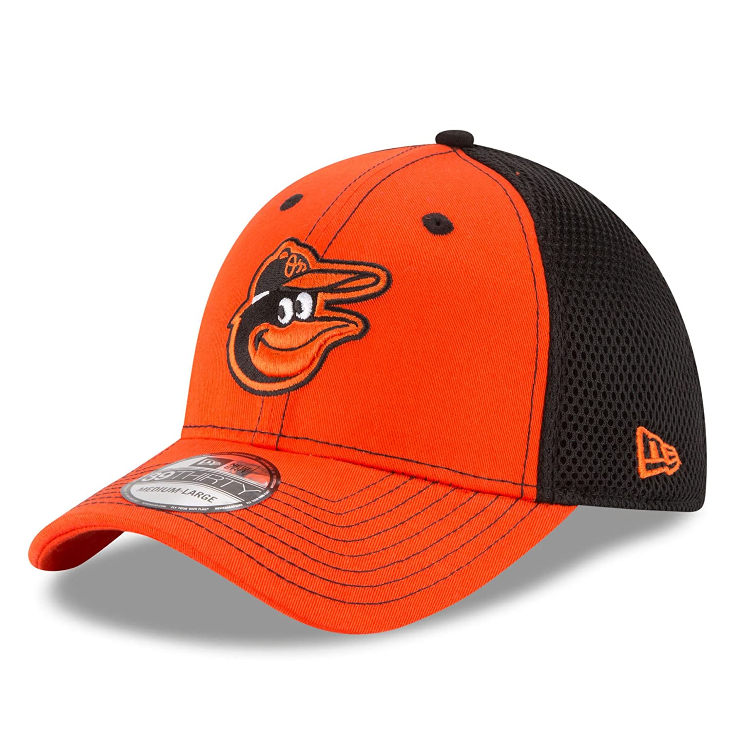 save off 51382 6443d Amazon.com   Baltimore Orioles New Era MLB 39THIRTY Team Front Neo Flex Fit  Hat   Clothing