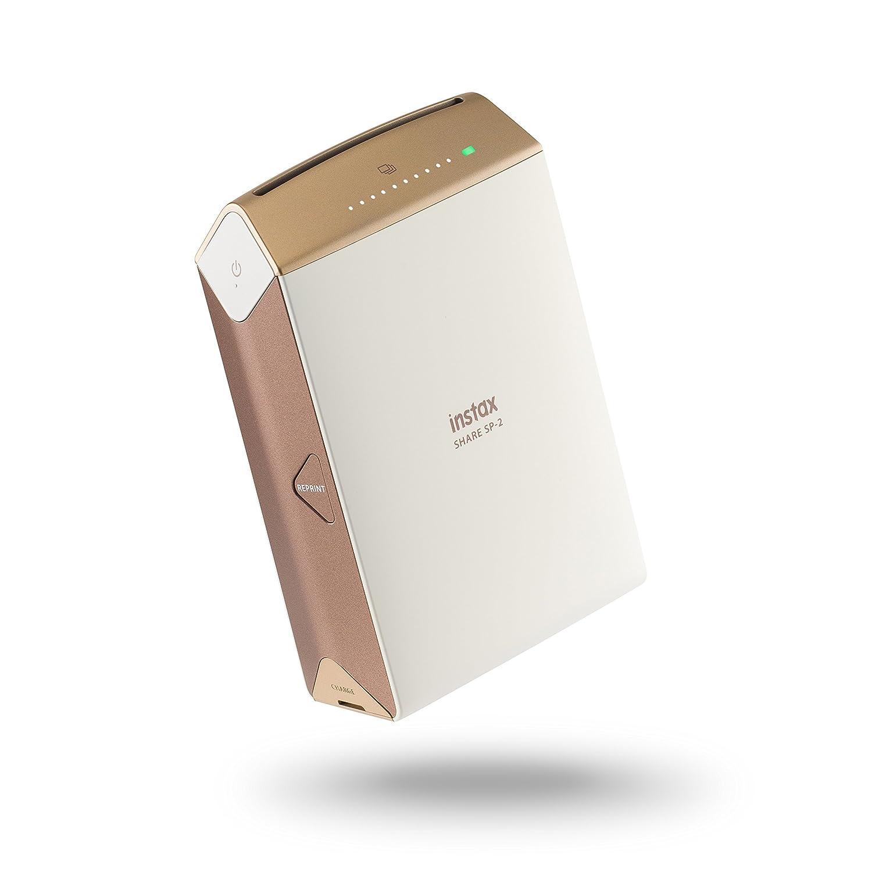 Fujifilm Instax Share SP Gold Ex D Impresora para smartphones mm x