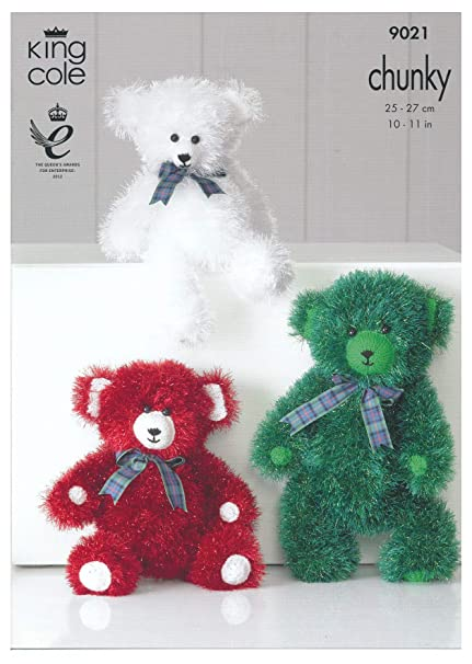 Teddy Bear Toy Knitting Pattern