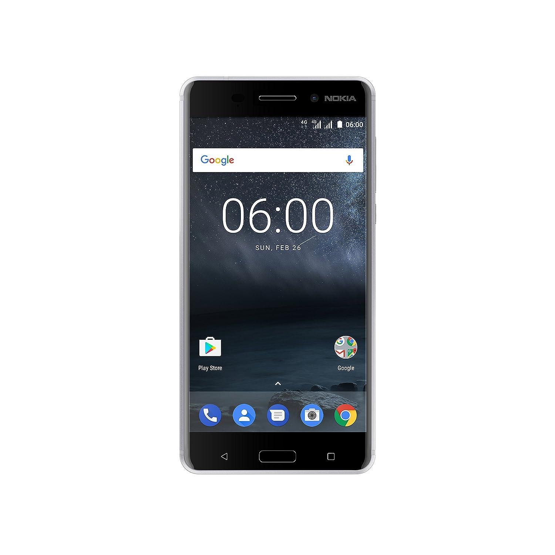 Nokia 6 Smartphone, 32 GB, Plata [Italia]