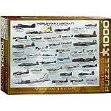 EuroGraphics Avions de la Deuxième Guerre Mondiale - Puzzle de 1000 Pièces
