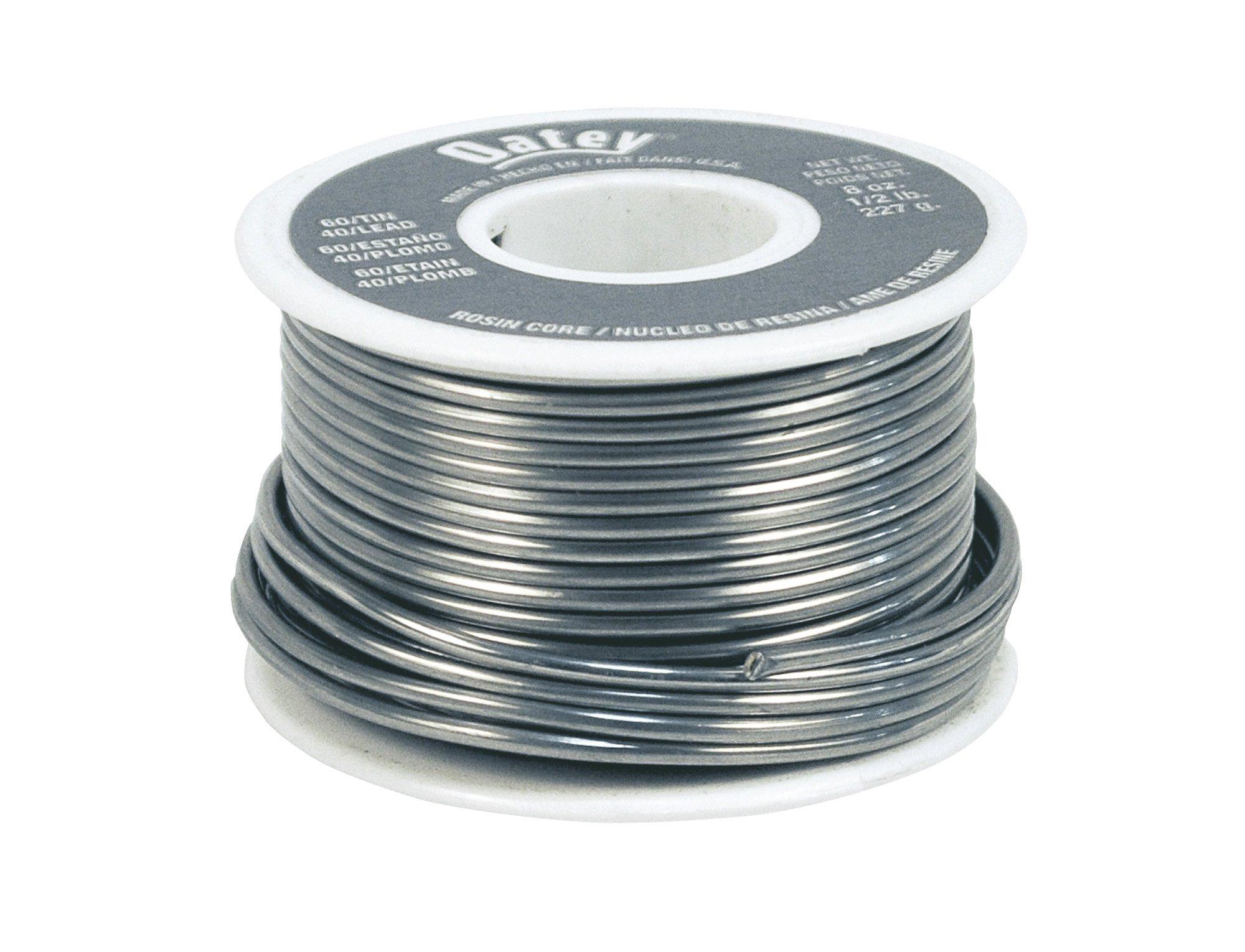 Oatey 50194 60/40 Rosin Core Solder 0.063-Inch ga. - Bulk 1/2 lb.