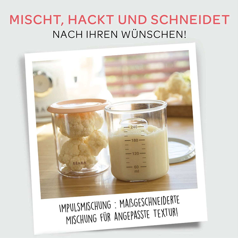 Babynahrungszubereiter Babycook/® Plus B/éaba Grau