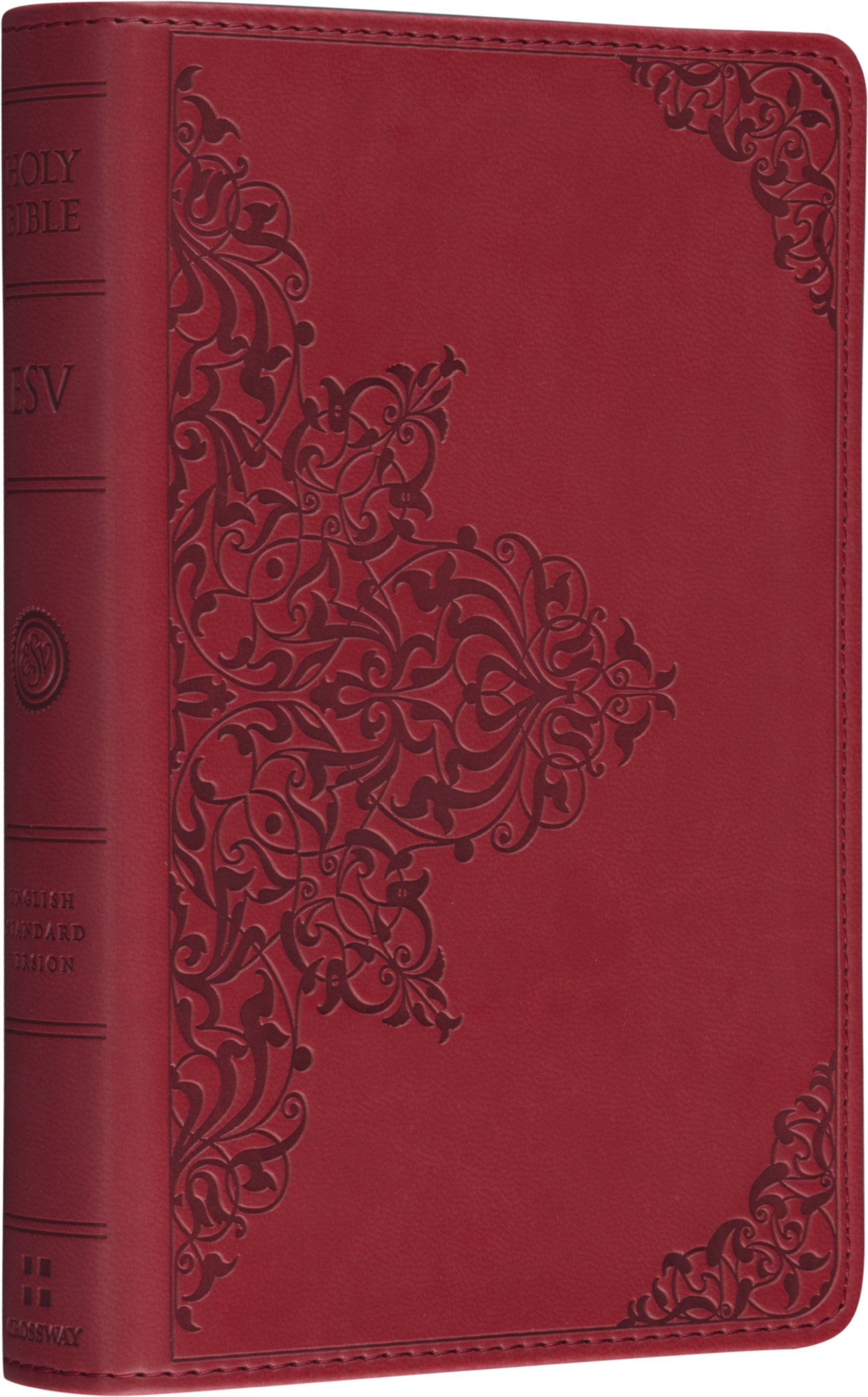 Holy Bible: English Standard Version, Trutone Cranberry Filigree Imitation Leather, Red Letter ebook