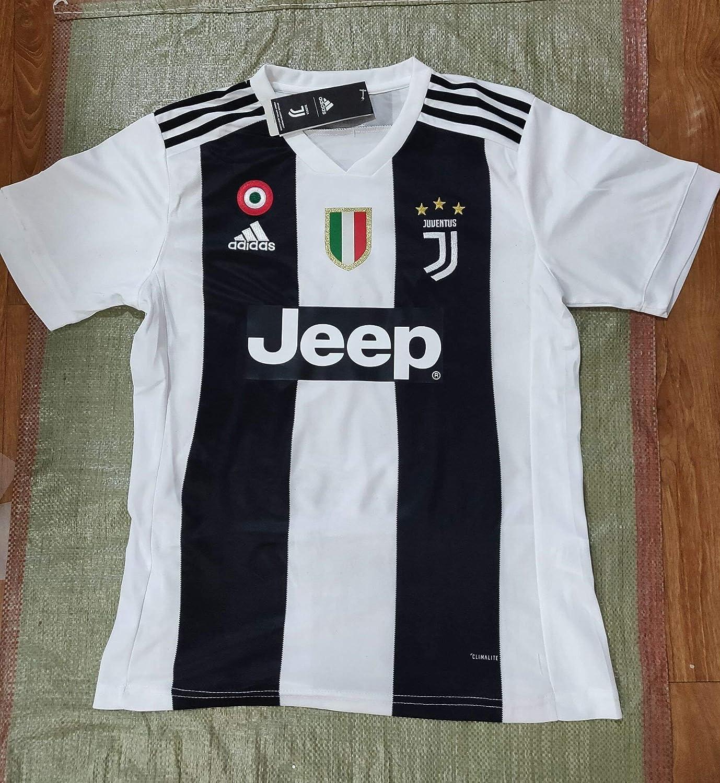 official photos d3f37 2baa5 2018/19 Ronaldo Juventus Replica Home Football Club Men's ...