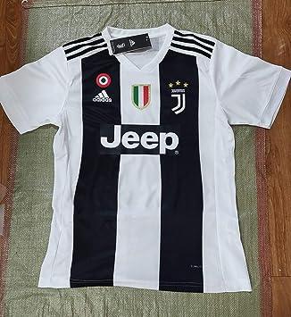 6e123ba6a53 2018 19 Ronaldo Juventus Replica Home Football Club Men s Shirt Jersey ( Medium)