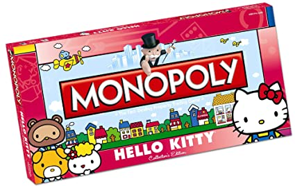c814cba8a Amazon.com: Monopoly Hello Kitty Collectors Edition: Toys & Games