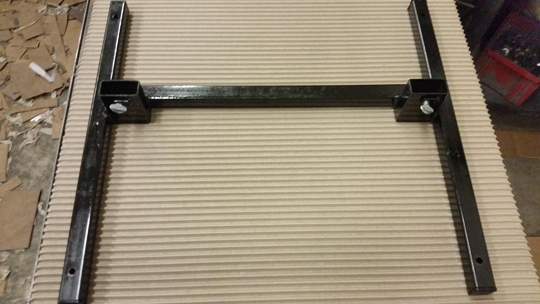 Custom Gates Steel Target Stand Fits IDPA & IPSC Targets, Black