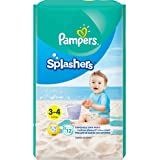 Pampers Splashers Pants, Size 3-4, 12 Count