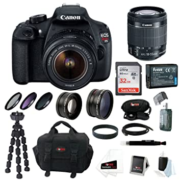 Amazon.com: Canon EOS Rebel T5 Cámara réflex digital con EF ...