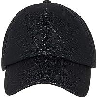 Under Armour Kadın UA Jacquard Play Up Cap-BLK Atkı, Şapka ve Eldiven Takımı, Siyah (Siyah 001), Tek Ebat (Üretici ölçüsü: OSFA)