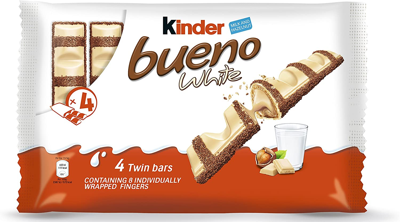Kinder Bueno Multipack 4 bares (Pack de 11): Amazon.es ...
