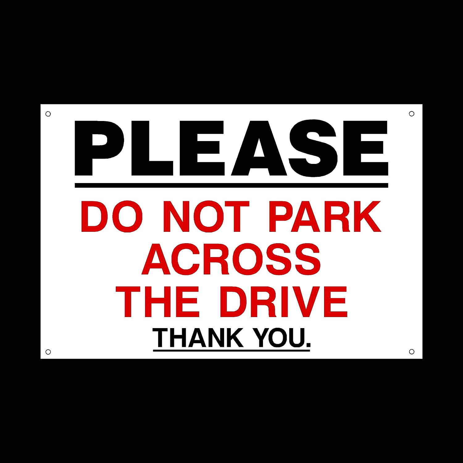 Amazon.com: Please Do Not Park across the Disco cartel de ...