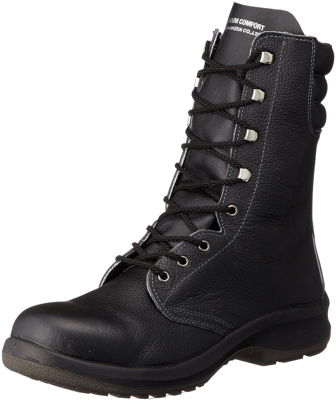[ミドリ安全] 安全靴 JIS規格 長編上靴 プレミアムコンフォート B0761G6LFT 27.5 cm 3E ブラック ブラック 27.5 cm 3E
