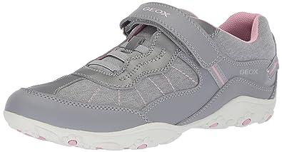 c55ae24ba5 Geox Adalyn Girl 1 Sneaker Grey 24 Medium EU Toddler (8 US)