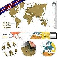 #benehacks Rubbelweltkarte UK und FR