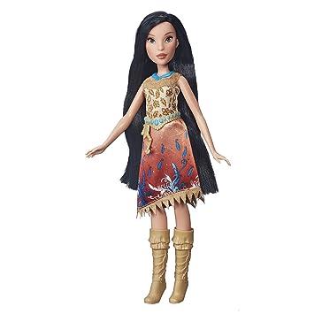 Disney Muñeca princesa real brillos G6KSvyK