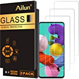 AILUN Screen Protector Compatible with Galaxy A51,[3 Pack],Tempered Glass,Ultra Clear,Anti-Scratch,Case Friendly-Siania Retai