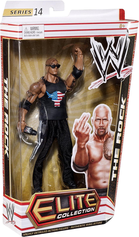 WWE THE ROCK Elite Series 14 Figure AMERICAN BULL TANK TOP SHIRT ACCESSORY EE