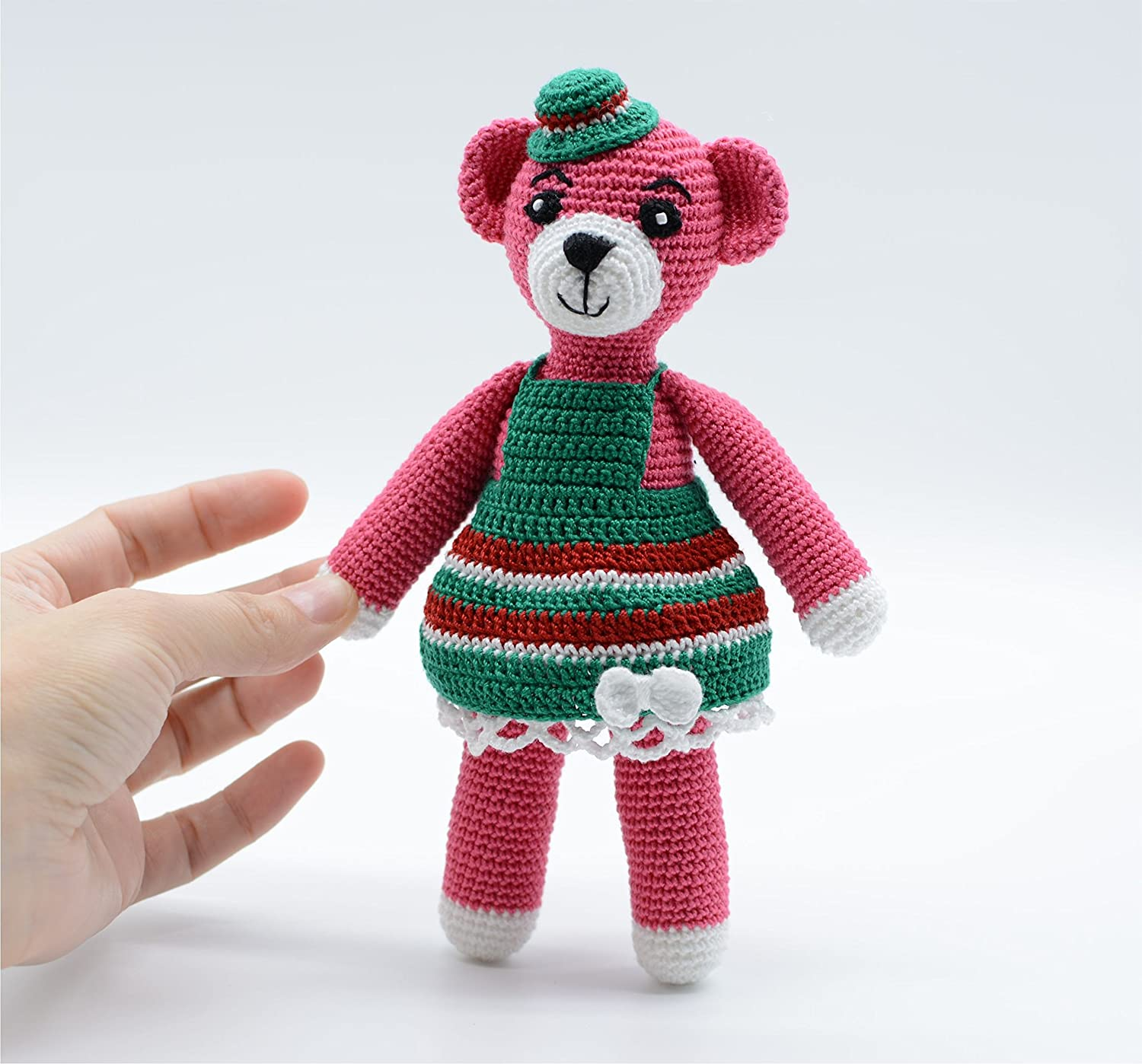 Get 70 Crochet Teddy Bear Patterns for free. See tons of photos ... | 1398x1500