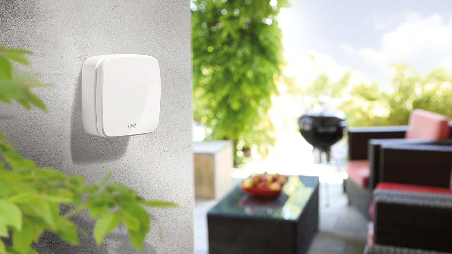 Elgato Eve Weather White Wireless Outdoor Sensor with Apple HomeKit Technology