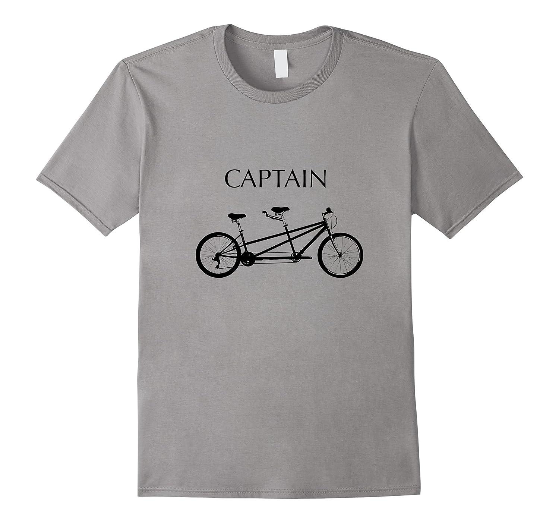 Tandem Bicycle Captain T-Shirt-TH