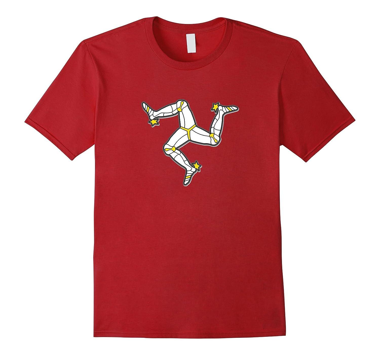 Isle Of Man Manx Flag T-Shirt