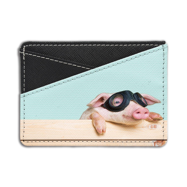 HB-HCH-S4470 Cute Pigs Printed Credit Card /& Cash Holder Wallet By Humblebee London