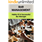Bar Management: Habits Of A Successful Bar Manager: Bar Management Operations