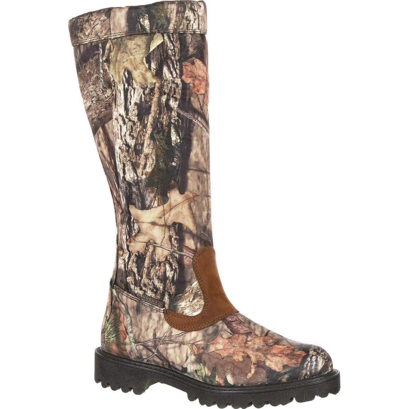 ROCKY Men's Low Country Waterproof Snake Boot Knee High, Mossy Oak Break Camoflauge, 13 W US by ROCKY