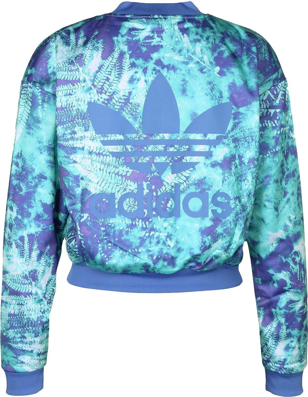 adidas Originals Womens Ocean Elements Track Jacket in Multi