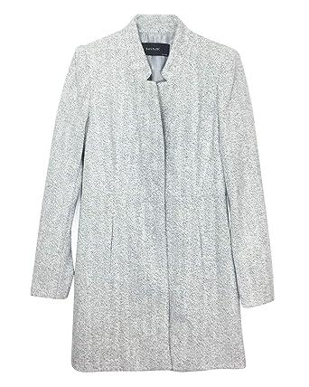 umgekehrtem Revers Jacke Lange Damen mit Zara 7988876 NnOPkX8Z0w
