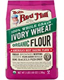 Bob's Red Mill Organic Ivory Wheat Flour, 48-ounce