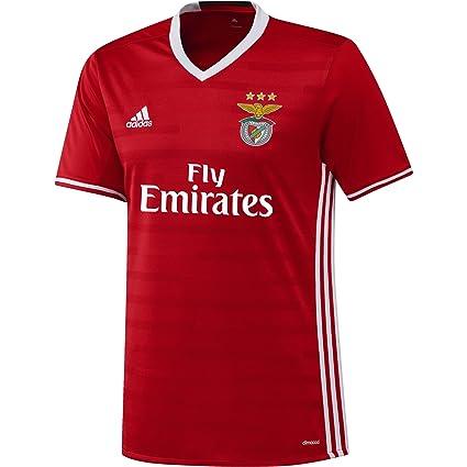 c3e87721942 Amazon.com   2016-2017 Benfica Adidas Home Football Shirt   Sports ...