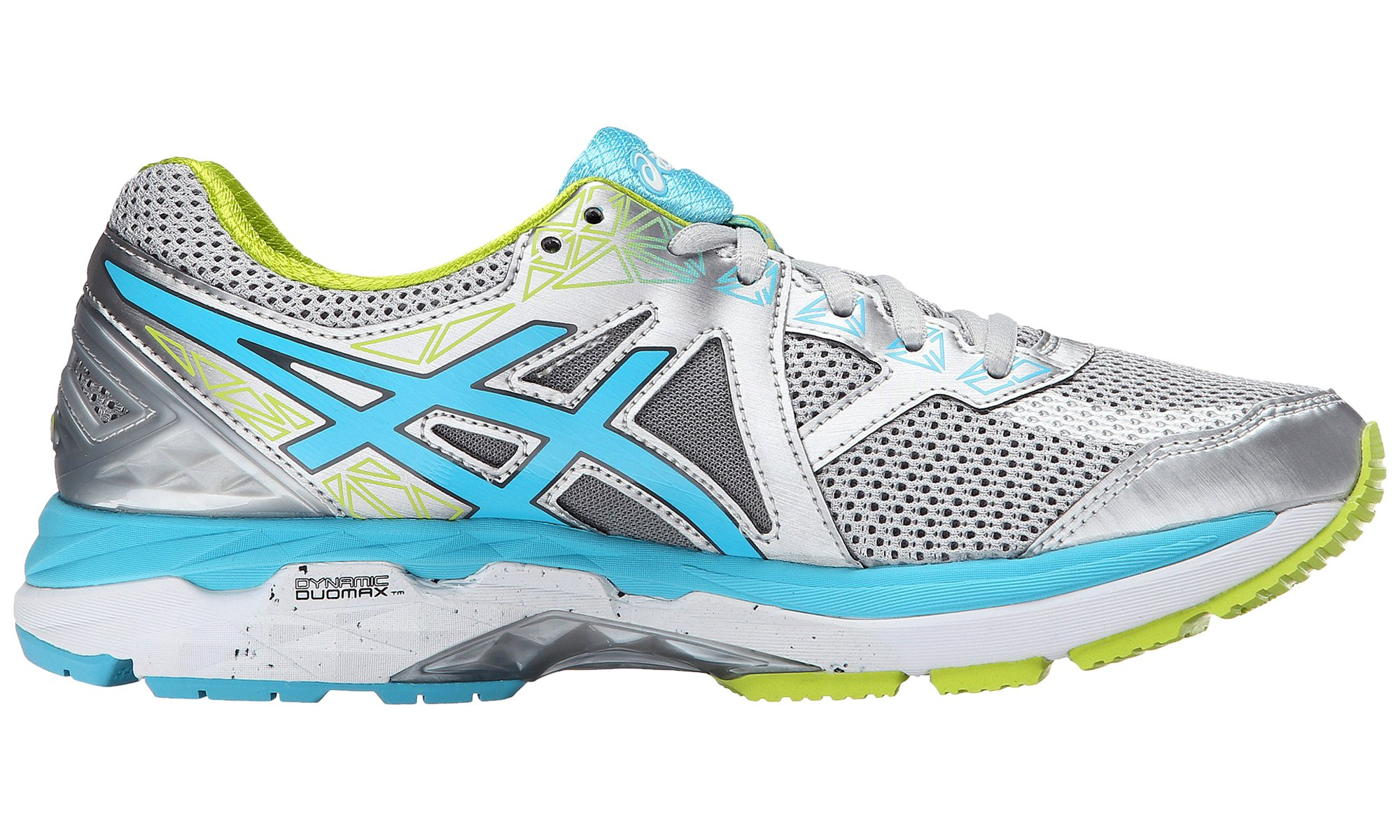 Us 2000 5 Gt D Women's Punch11 4 Running Asics ShoeSilverturquoiselime DH2IWE9Y