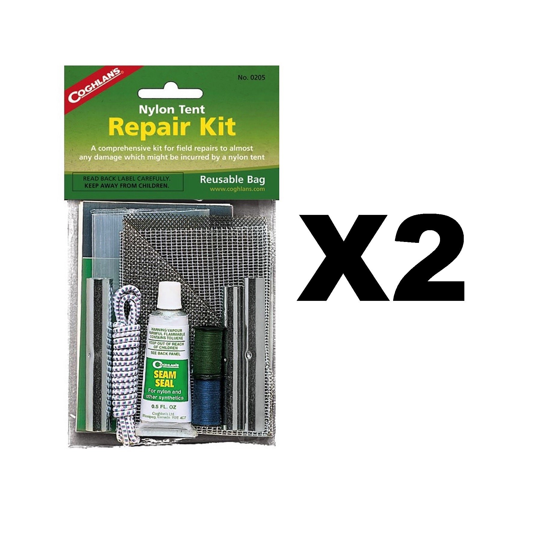 Coghlans 0205 Nylon Tent Repair Kit
