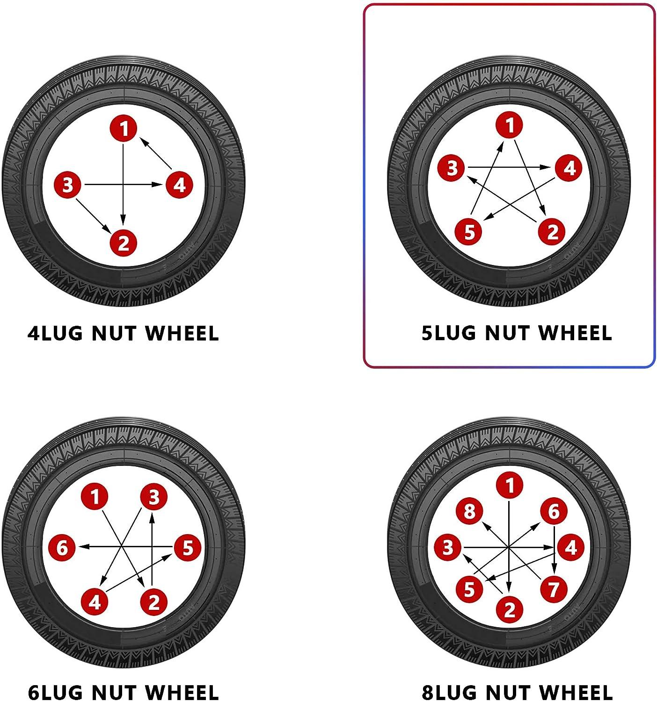 Rying M12x1.5 1.38 inch Lug Nuts 20 Pcs Chrome Closed End Spline Acorn Style Lug Nuts for Aftermarket Wheels Wheel Lug Nut,Bonus 1 Spline Tool//Key