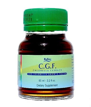 BioPure Chlorella Growth Factor CGF Liquid 2.2 fl oz 65 ml