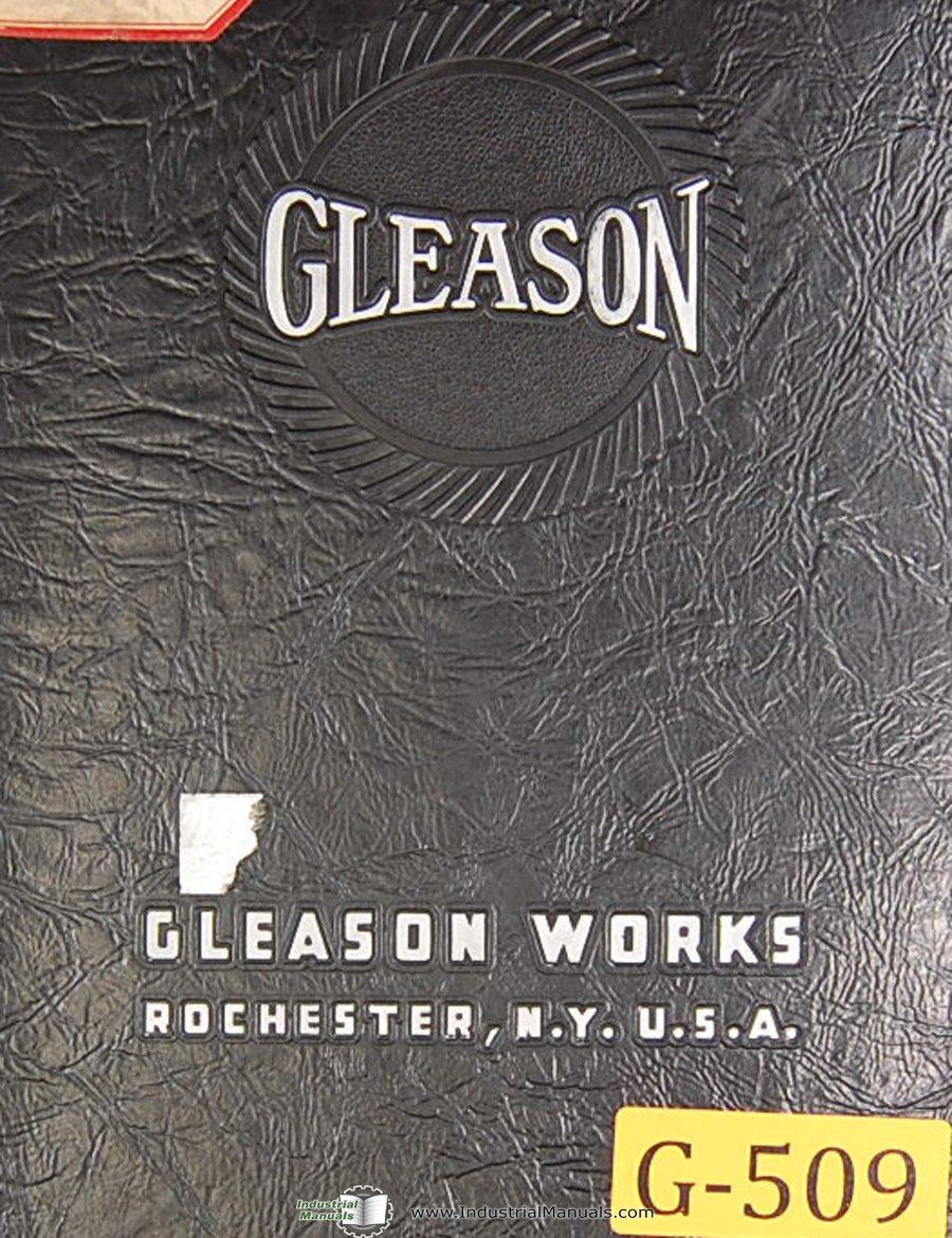 gleason 3 inch straight bevel gear generator operations manual rh amazon com Amboid Gear Plastic Bevel Gears