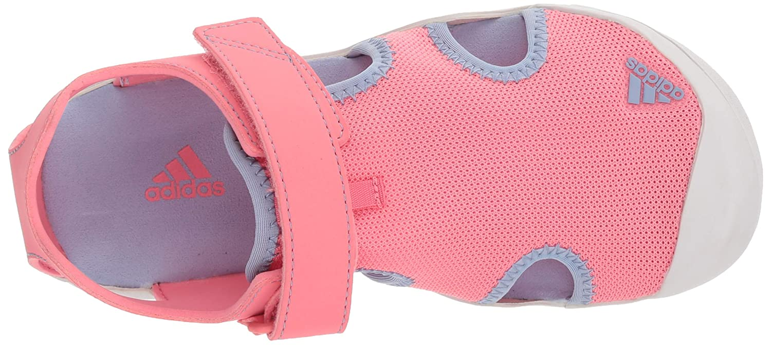cheap for discount 18753 f19b4 adidas Outdoor Kids Baby Girls Captain Toey (ToddlerLittle KidBig Kid) chalk  Pinkchalk BlueGrey One 1 M US Little Kid Amazon.co.uk Shoes  Bags