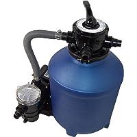 SPIRATO Splash 380 Filtro de Arena, Azul y Negro