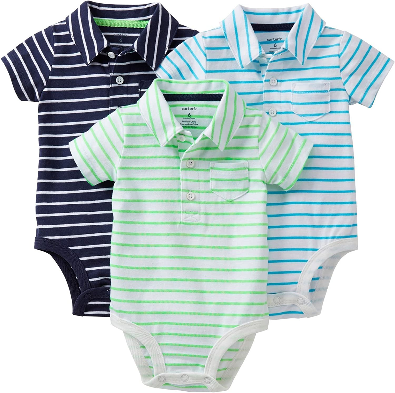 Details about  /PREEMIE BOYS BABY SET BODYSUIT CLOTHING 3 Pack JUNGLE