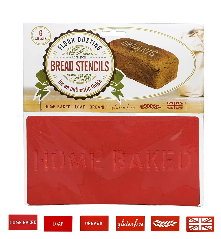 Eddingtons Bread Stencils, Set Of 6 850080