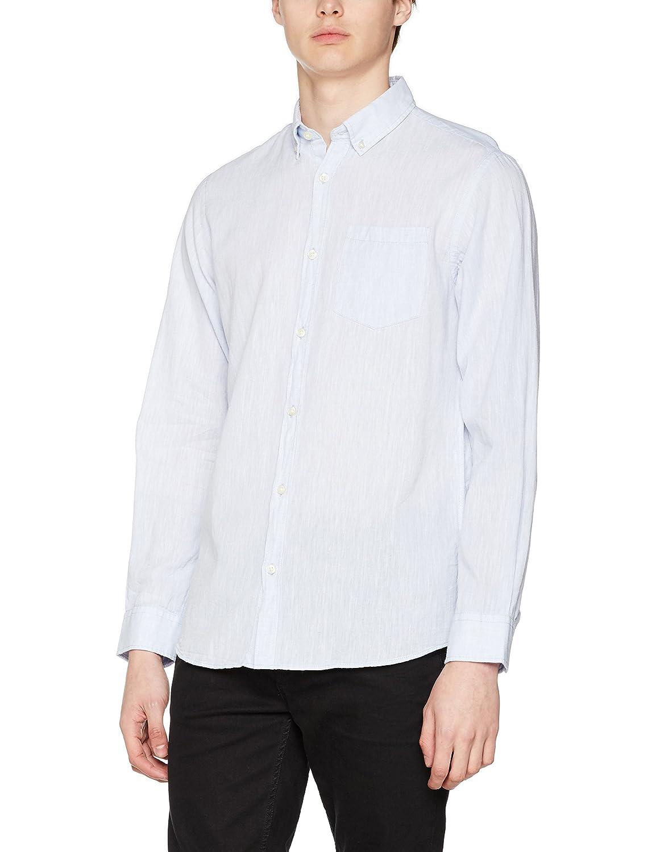 JACK & JONES Jorbech Shirt LS, Camisa para Hombre