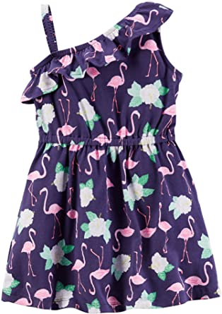 Carter\'s Carter\'s Sommer Kleid Mädchen outfit süß Kleidchen Flamingo ...